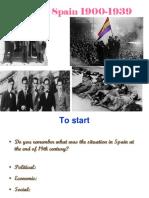 Spain 1900-1939