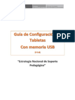 Guía de Configuración de Tabletas v2.0-Memoria Usb - Soporte Pedagógico