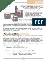 3 Phase Line Reactors Baldor