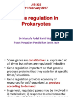 Gene Regulation in Prokaryotes 11022017