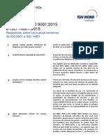 Preguntas Frecuentes Iso 9001 2015 Iso 14001 2015