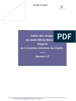Simpl is Cahier Des Charges Edi v17