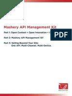 Mashery API Kit