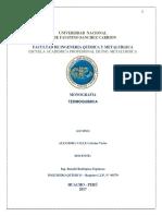 Monografia termoquimica