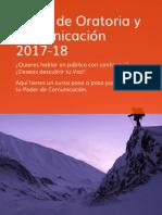 Programa Curso Oratoria 2018
