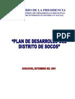 PDC DISTRITO DE SOCOS AYACUCHO