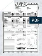 Tobias Character Sheet