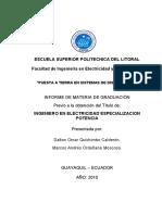 iNSTALACIÓN DE SISTEMAS A TIERRA