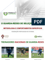 Fpf - Projeto 1 - Escola Guarda Redes - Apresentação