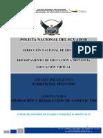 2. Modulo de Mediaciòn y Resoluciòn de Conflictos