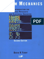 Iop Publishing - Quantum Mechanics - An Introduction for Device Physicists and Electrical Engineers - 2Nd Edition - 2001