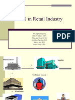 Management of Information Systems - A Retail Perspective