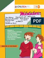 5 Guia Facilitador Capacitacion Adoles y Juventud Sexualidad