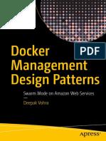 Docker Management Design Patterns Swarm Mode on Amazon Web Services