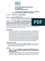 Informe Nº 081-2016 Solicito Modificacion de Certificacion Observacion