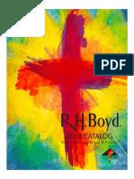 2018 RHB Catalog