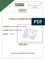 Trabajo Academico Matematica 1 Rosmery Perez Perez
