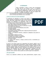 La Depresion PDF