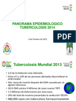 Panorama Epidemiologico Tb 2014