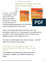 Book Summary_ Value-Based Fees by Alan Weiss