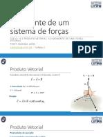 Aula 13 - Resultante de um sistema de forças.pdf