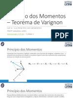 Aula 17 - Princípio dos Momentos - Teorema de Varignon.pdf