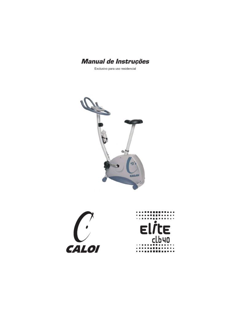 Manual de Instruções Bicicleta Ergométrica CBL 40 Elite