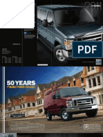 2011 Ford E-Series Vans, Wagons, and Cutaways