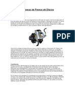 Sistemas de Frenos de Discos