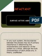 KULIAH IV(Surfactant) materi ajar kim dasar