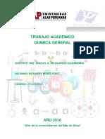 Trabajo Académico Quimica