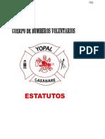 Cuerpo de Bomberos Voluntarios Estatutos