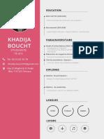 Khadija Boucht Cv2