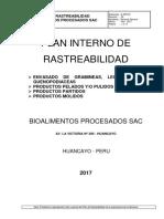 Rastreabilidad Bioprocesados 17 Nov 2017