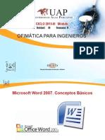 Ofimatica- Word Formatos y Estilos
