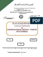 Plan d'Équipement FINAL Assistant Multimédia Et Développeur