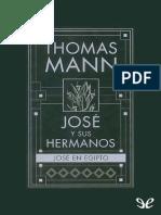 Jose en Egipto - Thomas Mann