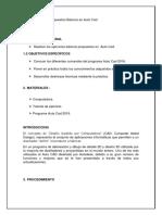Informe Figuras Autocad