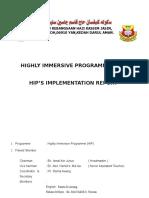 Hip Implementation Report 2017