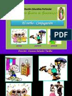 conjugacindelverbo-140614180044-phpapp01