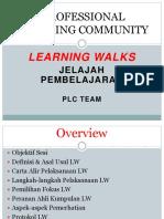 Learning Walks July