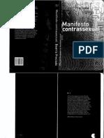 Beatriz Preciado, Paul B. Preciado-Manifesto Contrassexual-n-1