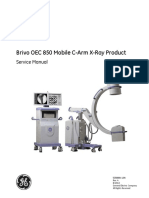 Brivo OEC 850 Mobile C-Arm X-Ray SM