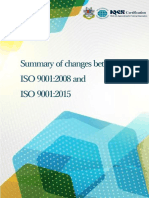 Free eBook Summary of Changes Between ISO9001 2008 and ISO 9001 2015 V2