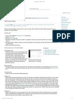 Wordpress-Creating and Using Posts