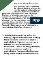 5. Complex Argumentative Passages