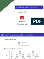 EC400 Slides Lecture 6