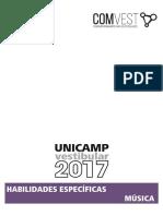 Música Unicamp 2017