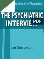 Psychiatric Interview
