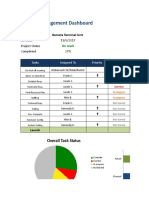 Excel Pm Dashboard